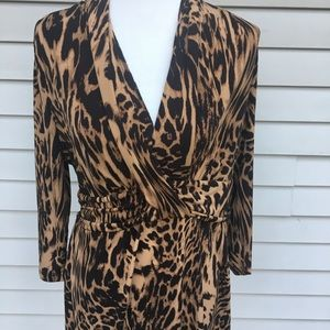 New York and company leopard top